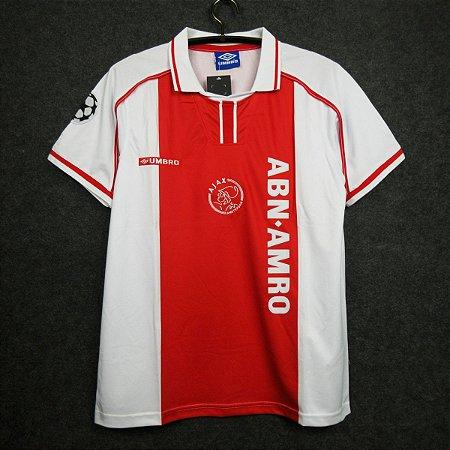 Camisa Ajax 1998-1999 (Home-Uniforme 1)