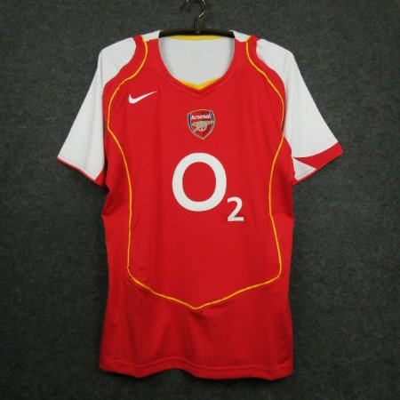 Camisa Arsenal 2004-2005 (Home-Uniforme 1)