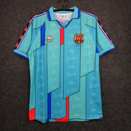 Camisa Barcelona 1996-1997 (Away-Uniforme 2)