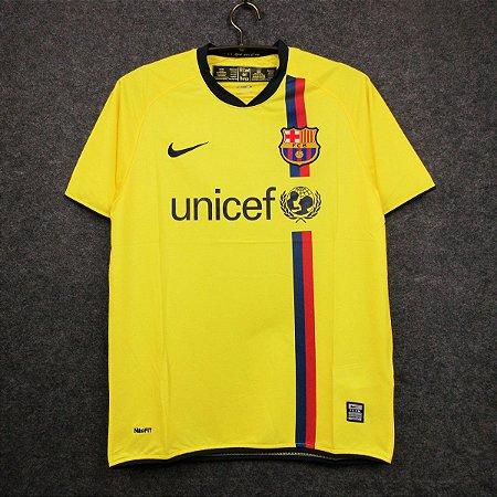 Camisa Barcelona 2008-2009 (Away-Uniforme 2)