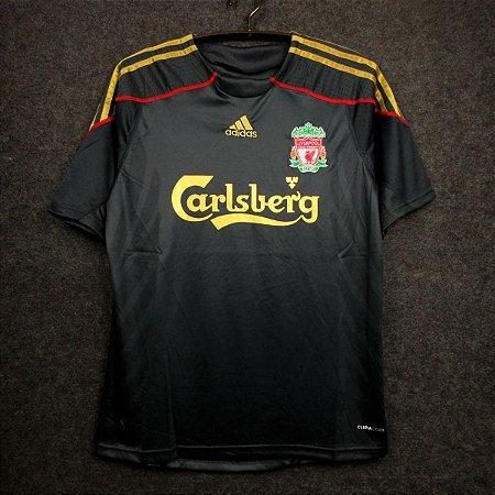 Camisa Liverpool 2009-2010 (Away-Uniforme 2)