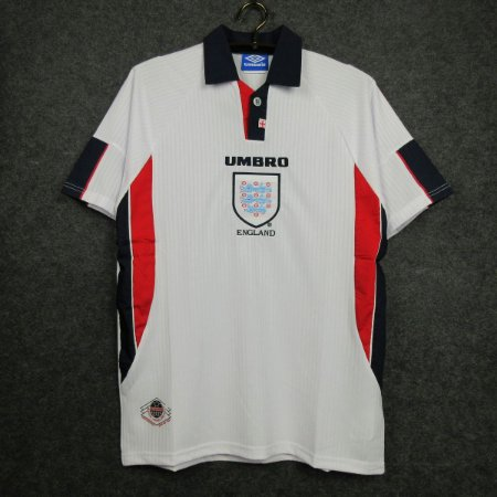 Camisa Inglaterra  1998 (Home-Uniforme 1) - Copa do Mundo