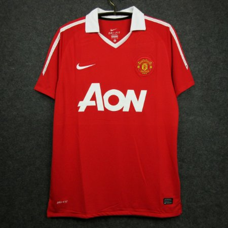 Camisa Manchester United 2010-11 (Home-Uniforme 1)