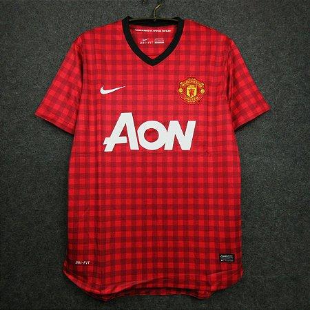 Camisa Manchester United 2012-13 (Home-Uniforme 1)