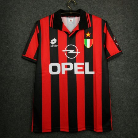 Camisa Milan 1996-1997 (Home-Uniforme 1)