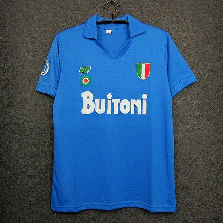 Camisa Napoli 1987-1988 (Home-Uniforme 1)