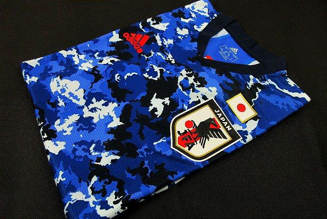 Camisa Japão 2020-21 (Home-Uniforme 1) - Modelo Jogador