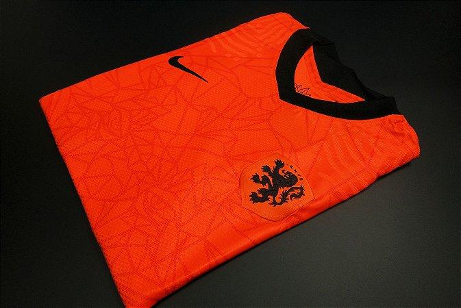 Camisa Holanda 2020-21 (Home-Uniforme 1) - Modelo Jogador