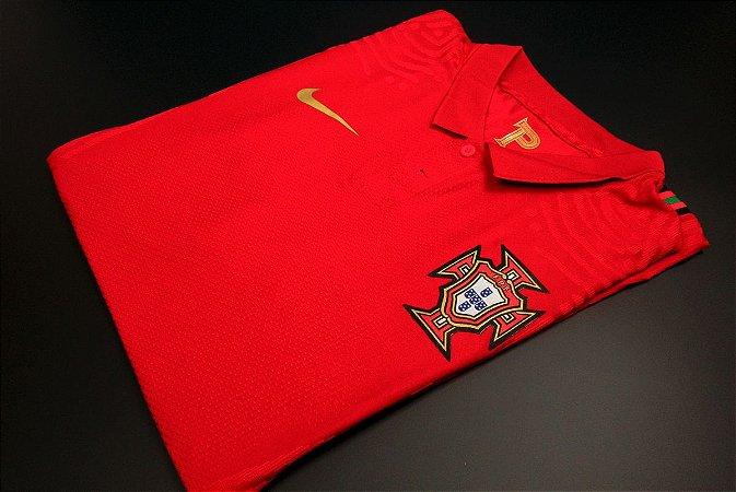 Camisa Portugal 2020-21 (Home-Uniforme 1) - Modelo Jogador