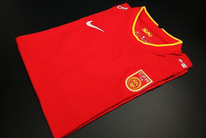Camisa China 2020-21 (Home-Uniforme 1) - Modelo Jogador