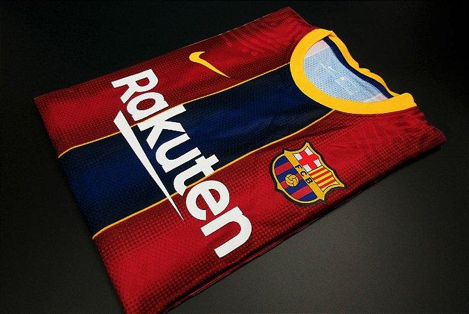 Camisa Barcelona 2020-21 (Home-Uniforme 1) - Modelo Jogador