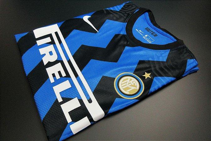 Camisa Internazionale 2020-21 (Home-Uniforme 1) - Modelo Jogador