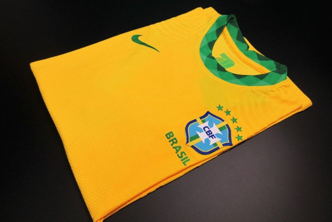 Camisa Brasil 2020-21 (Home-Uniforme 1) - Modelo Jogador