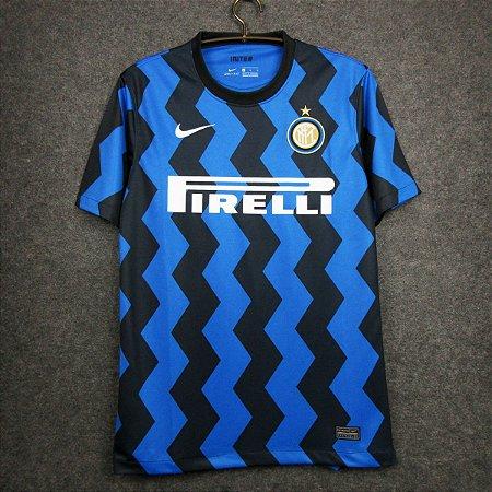Camisa Internazionale 2020-21 (Home-Uniforme 1) - Modelo Torcedor
