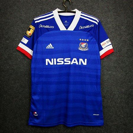 Camisa Yokohama F.Marinos 2020-21 (Home-Uniforme 1) - Modelo Torcedor