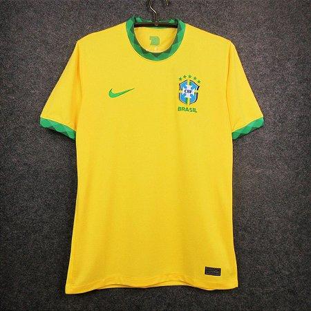 Camisa Brasil 2020-21 (Home-Uniforme 1) - Modelo Torcedor