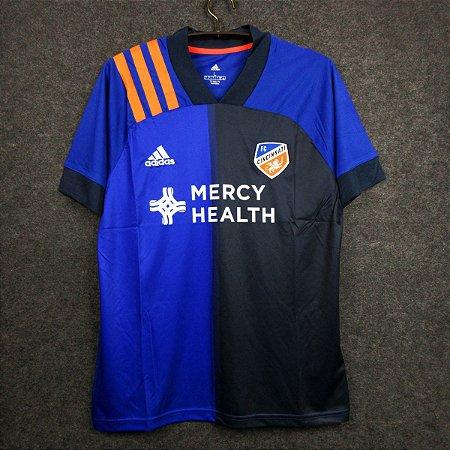 Camisa FC Cincinnati 2020-21 (Home-Uniforme 1) - Modelo Torcedor