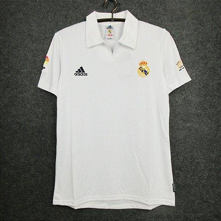 Camisa Real Madrid 2002-2003 (Home-Uniforme 1)