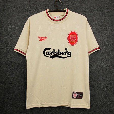 Camisa Liverpool 1996-97 (Away-Uniforme 2)