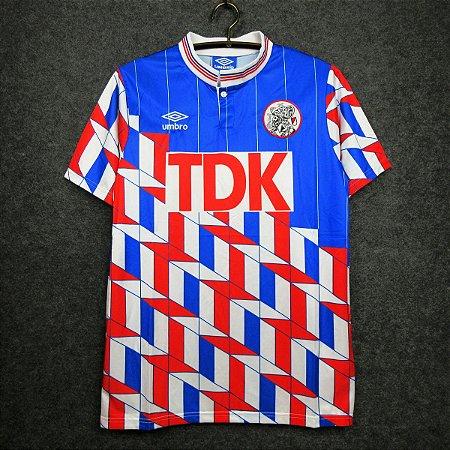 Camisa Ajax 1990-1991 (Away-Uniforme 2)