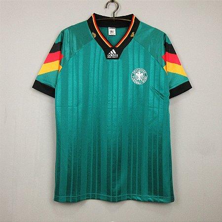 Camisa Alemanha 1992 Eurocopa (Away-Uniforme 2)