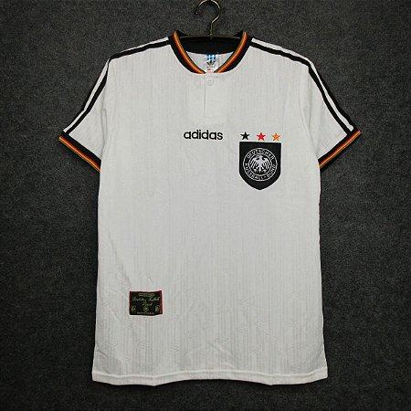 Camisa Alemanha 1996 Eurocopa (Home-Uniforme 1)