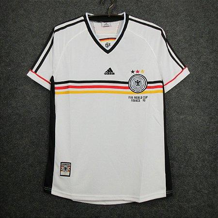 Camisa Alemanha 1998 Copa do Mundo (Home-Uniforme 1)