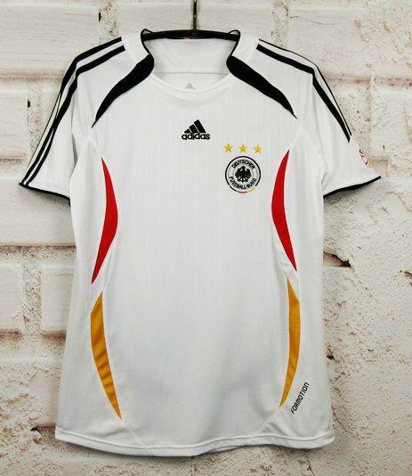Camisa Alemanha 2006 Copa do Mundo (Home-Uniforme 1)