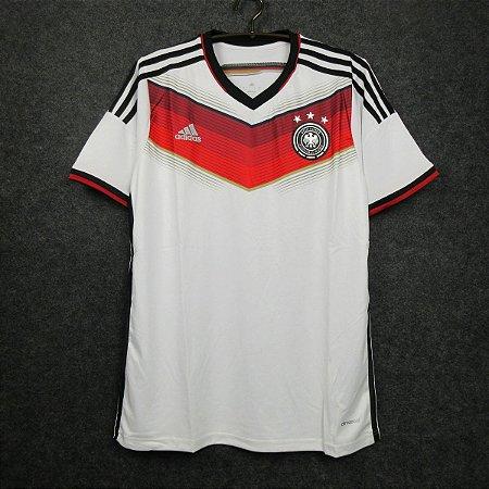 Camisa Alemanha 2014 Copa do Mundo (Home-Uniforme 1)