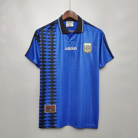 Camisa Argentina 1994 Copa do Mundo  (Away-Uniforme 2)