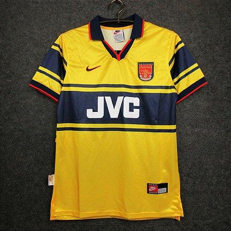 Camisa Arsenal 1997-1998 (Away-Uniforme 2)