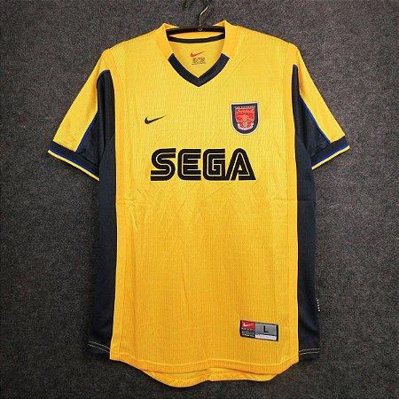 Camisa Arsenal 1999-2001 (Away-Uniforme 2)
