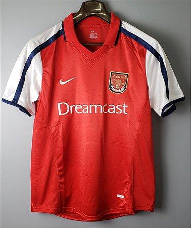 Camisa Arsenal 2000-2001 (Home-Uniforme 1)