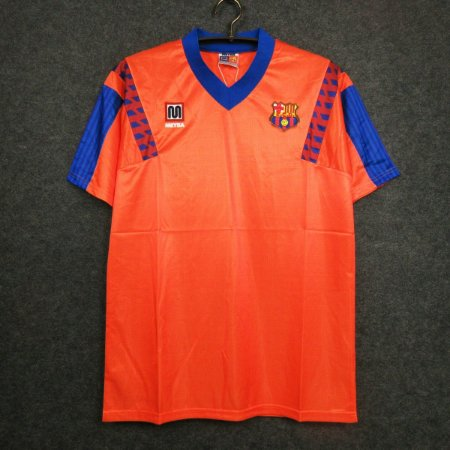 Camisa Barcelona 1991-92 (Away-Uniforme 2)