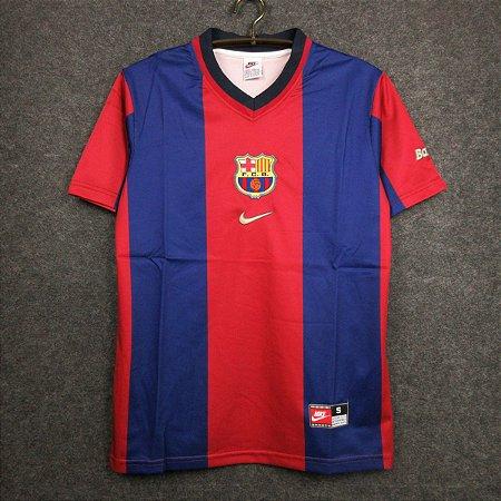 Camisa Barcelona 1998-99 (Home-Uniforme 1)
