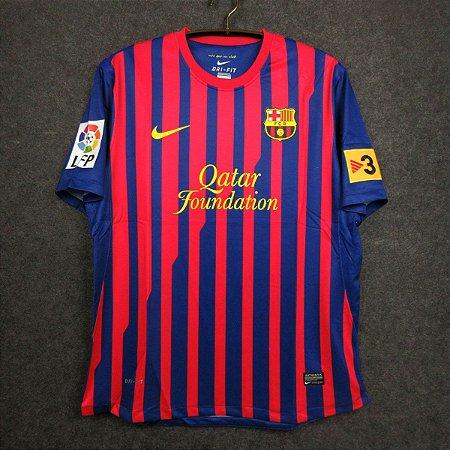 Camisa Barcelona 2011-2012 (Home-Uniforme 1)
