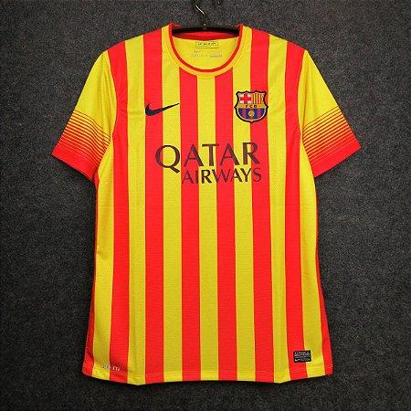 Camisa Barcelona 2013-2014 (Away-Uniforme 2)