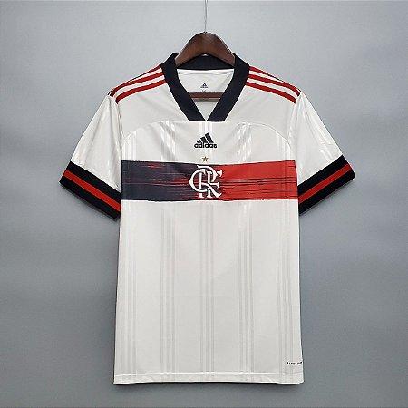 Camisa Flamengo 2020-21 (Uniforme 2) - Modelo Torcedor (sem patrocínios)