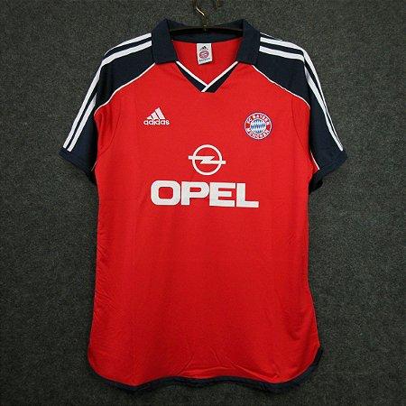 Camisa Bayern Munich 1999-2000 (Home-Uniforme 1)