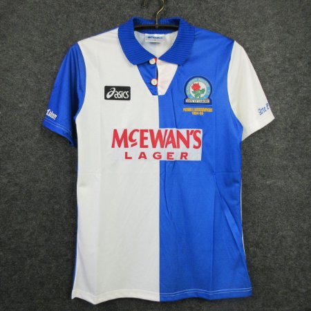 Camisa Blackburn Rovers 1994-1995 (Home-Uniforme 1)