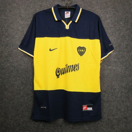 Camisa Boca Juniors 1998-1999 (Home-Uniforme 1)