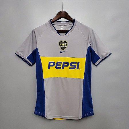 Camisa Boca Juniors 2001-2002 (Third-Uniforme 3)