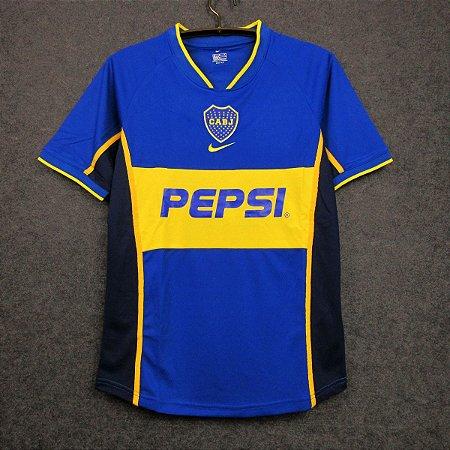 Camisa Boca Juniors 2001-2002 (Home-Uniforme 1)