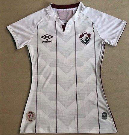 Camisa Fluminense 2020-21  (Away-Uniforme 2)  - Feminina