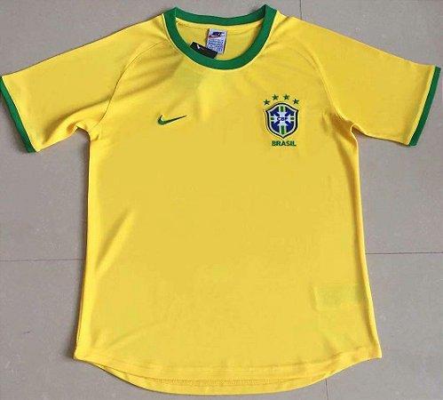Camisa Brasil 2000  (Home-Uniforme 1)