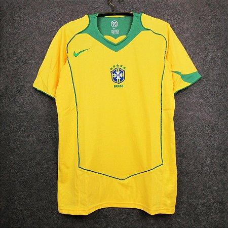 Camisa Brasil 2004  (Home-Uniforme 1)