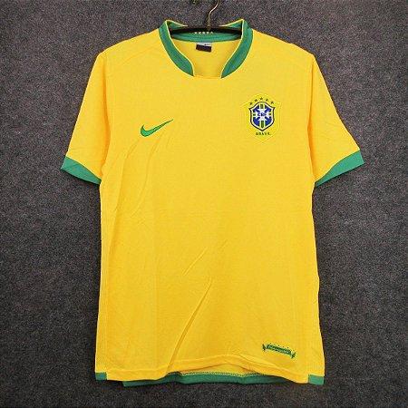 Camisa Brasil Copa do Mundo 2006  (Home-Uniforme 1)
