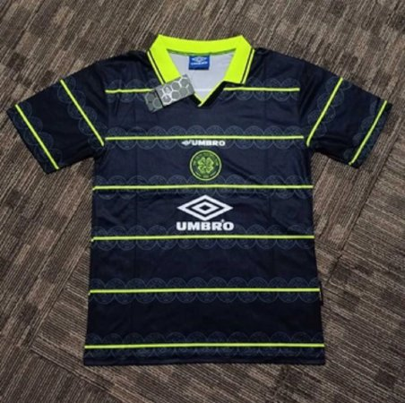 Camisa Celtic 1998-1999 (Away-Uniforme 2)