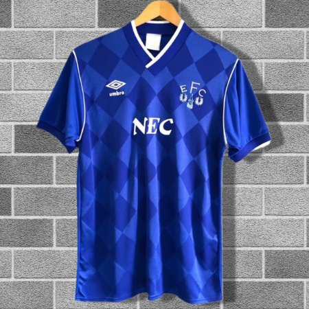 Camisa Everton 1986-1989 (Home-Uniforme 1)