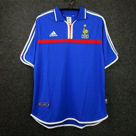 Camisa França 2000  (Home-Uniforme 1) - Eurocopa